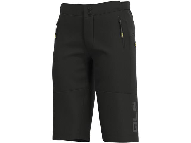 Alé Cycling Off-Road MTB Rock Pantaloncini Uomo, black/charcoal grey
